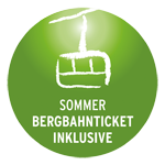 Bergbahn Ticket inklusive